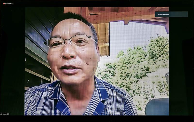 山形県で種子農家を営む菊地富夫さん